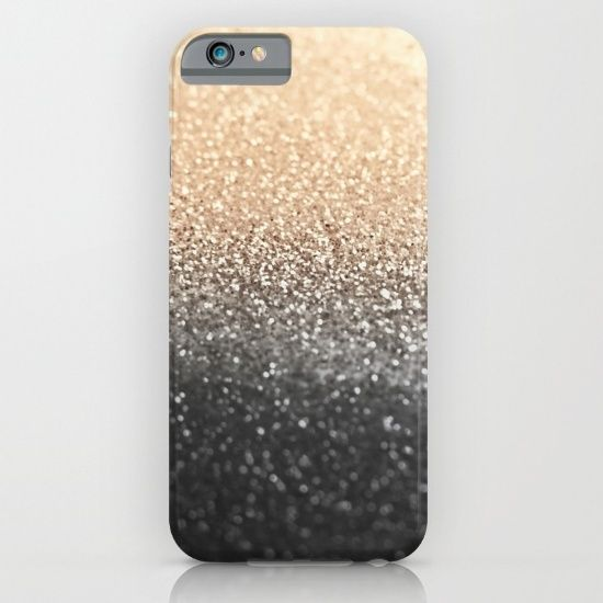 PLEASE NOTICE:<br/> This iphone case is not made of real glitter pieces, which you can feel and touch. It`s a smooth, strong plastic iphone case, which is printed with a photography of glittersparkles with a special macro lens. You don`t have to worry about spoiling the glitter, when you use the case. The photography can not be damaged. Have fun with your new case!<br/> <br/> If you like more - check here!<br/> http://society6.com/monikastrigel/gatsby-coral-heart#1=45        CORAL HEART…