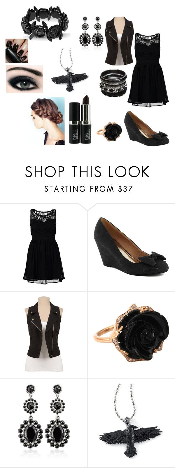 """Jordan Gilbert's Party outfit"" by shianne77 ❤ liked on Polyvore featuring Vero Moda, Hostess, Irene Neuwirth, White House Black Market, CK One and Carven"