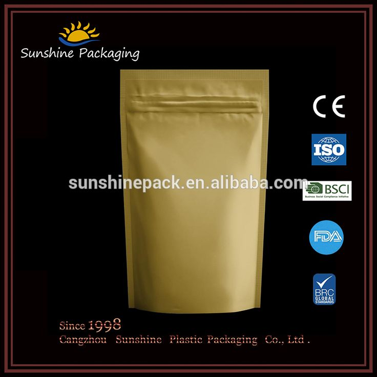 OEM luxury custom plastic bag for food/Stand up pouch for snack with ziplock