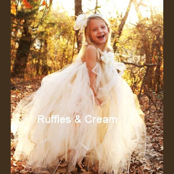 Little girl tutu gown