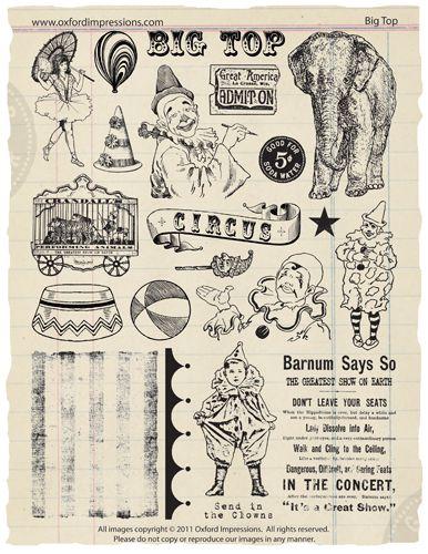 Big Top stamp set
