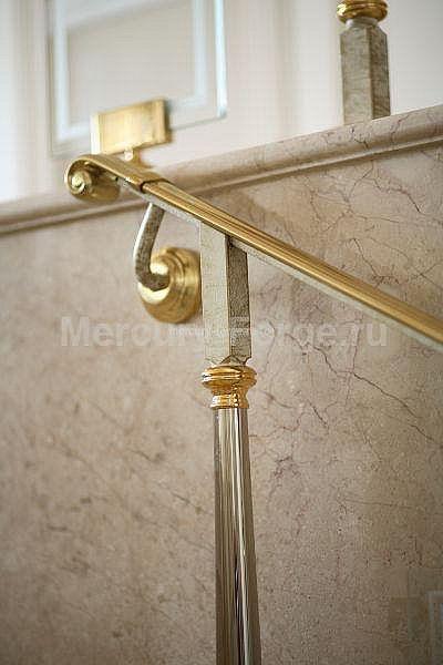 Ограждение лестницы в коттедже - «Mercury Forge» #stairs #decor # home #grandeforge #paris #mercuryforge #лестницы #ограждения #париж #москва #дом #интерьер