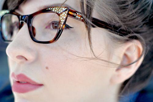 cat eyes: Vintage Eye Glasses, Vintage Eyewear, Cat Eye, Wear Glasses, Cute Glasses, Glasses Love Vintage, Eyeglasses, Style Blog, Bling Eye Glasses
