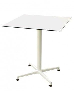 PM 070 - picior de masă din aluminiu, fix sau rabatabil. PM 070 - aluminum table leg.