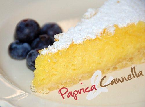 Torta al limone soffice e profumata | Paprica e Cannella