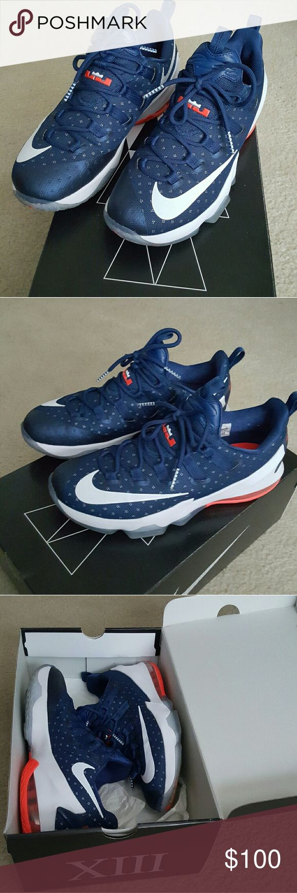 Nike Lebron James XIII LOW USA OLYMPIC EDITION Nike Shoes Athletic Shoes