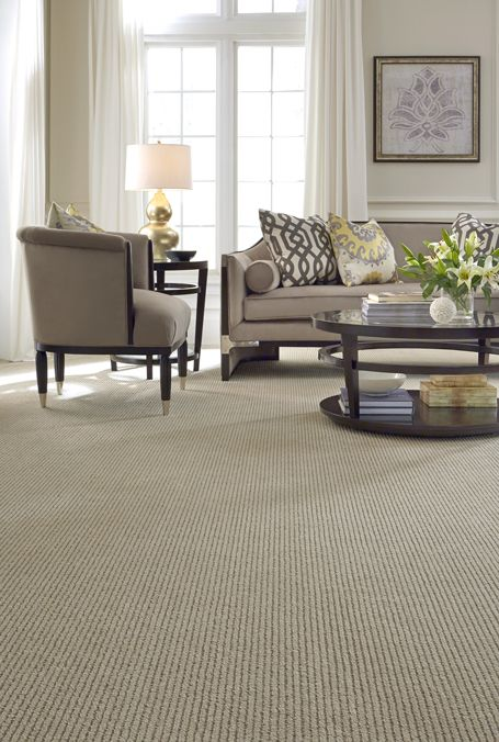 A Dramatic Cut And Loop Stripe Carpet Pattern That Is Truly Understated With Its Simplistic Design