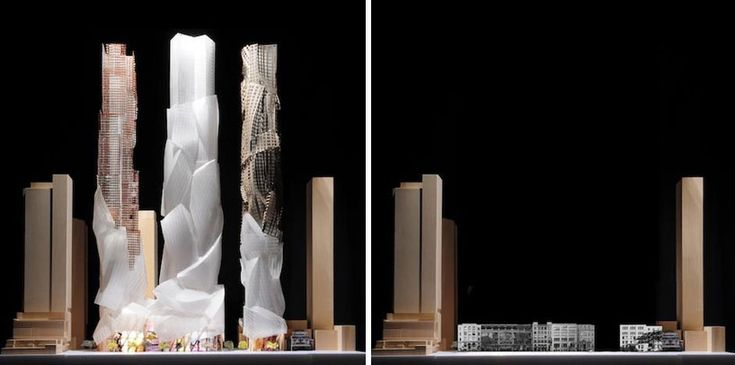 frank gehry's latest plan for king st. development in toronto