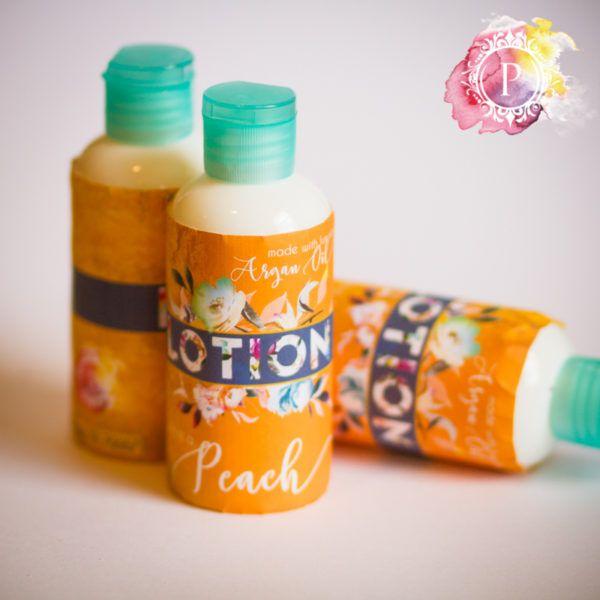 Peach [Argan Oil Lotion]   Poepa Soap