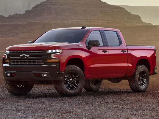 Sneak peek: All-new Chevy Silverado pickup    Sneak peek: All-new Chevy Silverado pickup  The Detroit News2019 Chevrolet Silverado 1500 Trail Boss takes bowtie brand to new heights  Motor Authority2019 Chevrolet Silverado: Here's a quick firs   http://www.detroitnews.com/story/business/autos/ford/2017/12/16/first-look-new-chevrolet-silverado/108661816/