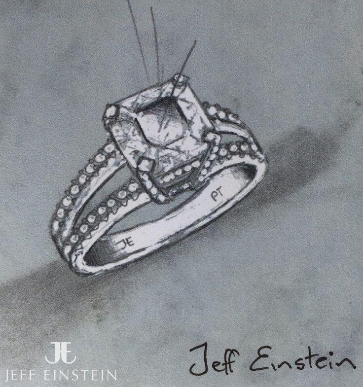 The start of an exciting and new Jeff Einstein design. #jeffeinstein #jeffeinsteinjewellery #doublebay #sydney #jewelry #jewellery #diamond #engagement #ring #engagementring #sparkle