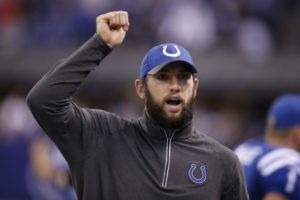 Indianapolis Colts quarterback Andrew Luck giving back to his town