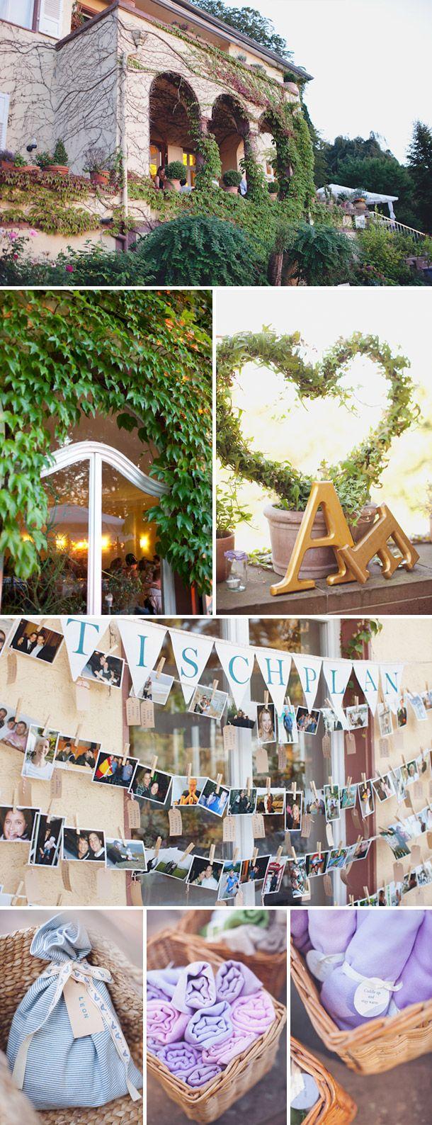 Vintage dekorierte Hochzeit von Chris Spira Photography