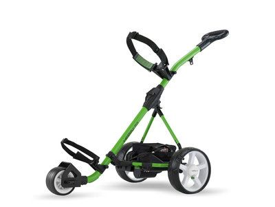 Electric Golf Trolley Green by Hill Billy USA