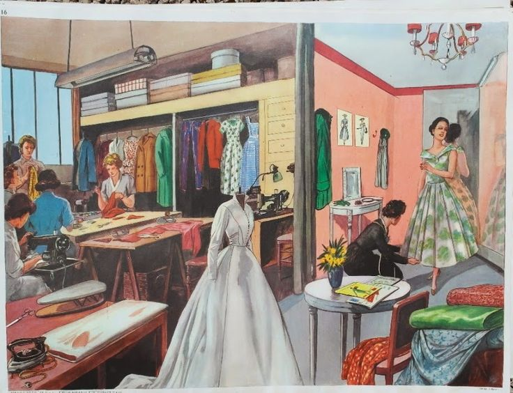 Affiche le salon de couture locution mdi couture for Couture de salon