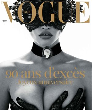 Vogue Paris 90th Anniversary Cover
