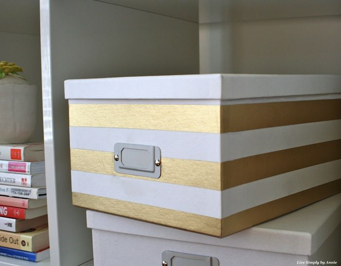 DIY Stylish Storage Boxes