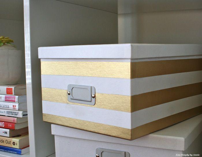 DIY Stylish Storage Boxes