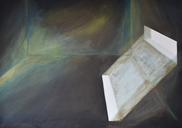 Kelder2, acryl op papier (50 x 70)