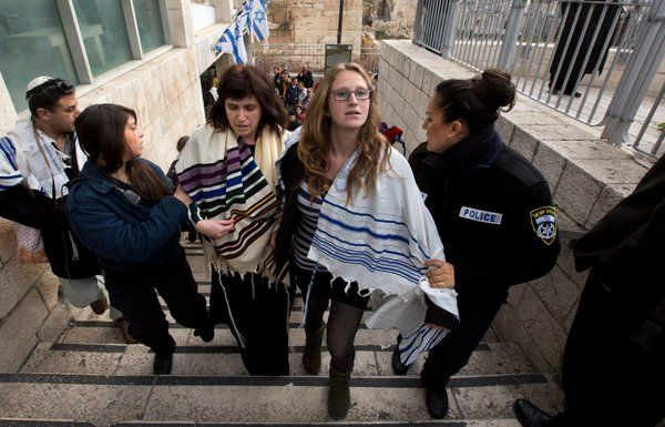 """""""Arrests of 10 Women Praying at Western Wall Add to Tensions Over a Holy Site"""" NY Times article"""