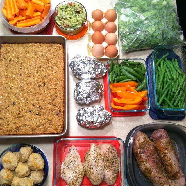 How to do a healthy weekly food prep. I used to do this every Sunday when I worked in an office!!!  Saves so much time especially cutting up veggies.
