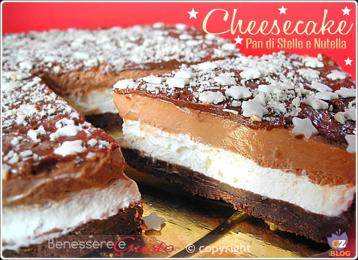 Cheesecake Pan di Stelle e Nutella