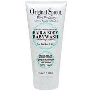 Original Sprout - Hair & Body Baby Wash 4oz
