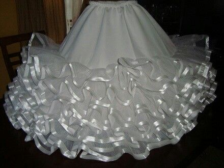 Falso falda circular
