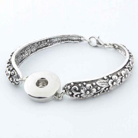 [EBay] One Snap Interchangable Snap Button Charm Bracelet, Snap Bracelet Fit 18Mm Button Nb0060