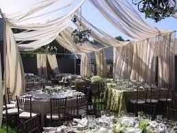 Image result for mesas para bodas en jardin