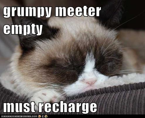 Tardar is too sleepy to grump