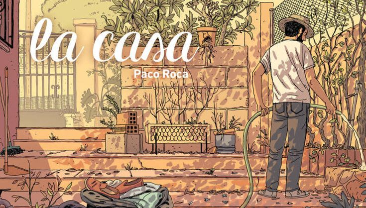 """Paco Roca publica """"La casa"""", su octava novela gráfica - http://www.actualidadliteratura.com/paco-roca-publica-la-casa-su-octava-novela-grafica/"""