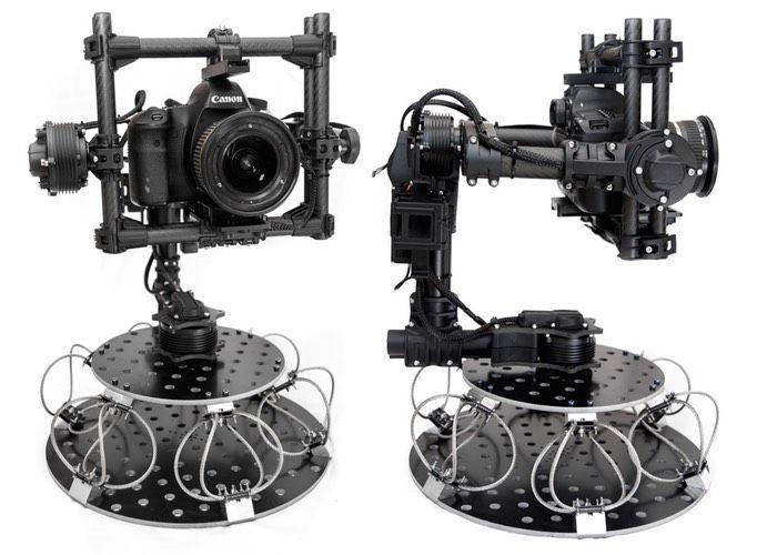 Camera Vibration Damper : Stabilised camera gimbal vibration isolator mount designed