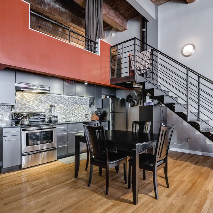 #JUST #LISTED - Center City District (Loft District) . 2 Bed | 2 Bath | 1300 Sqft | Storage INCLUDED | $2350/mo . True NY style loft building with. 12 ft high windows allow for an incredible amount of sun exposure. Extremely high ceilings. Kitchen comes complete with SS appliances black granite counter tops gray cabinetry and a SS prep table. Custom crafted iron stair case leads to the mezzanine level with a carpeted master bedroom tiled bathroom and a large storage area with hardwood floor…