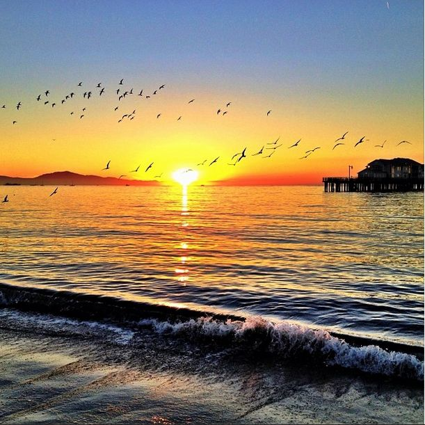 Best Sunrise Sunset Images On Pinterest Sunrises Sunsets - Long exposure photographs capture entire day sunrise sunset