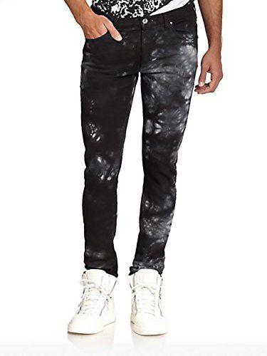 VERSACE Versace Men'S Slim Fit Acid Wash Denim Jeans. #versace #cloth #
