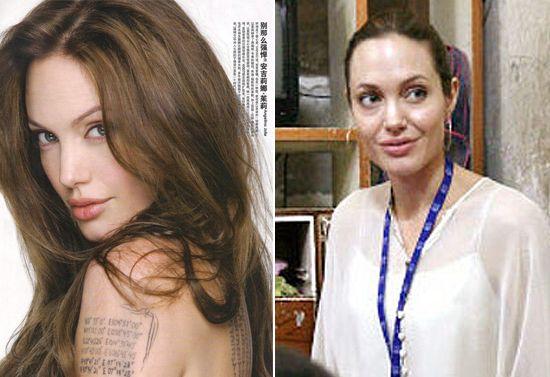 angelina jolie no makeup | Angelina Jolie, Angelina Jolie without makeup, Angelina Jolie no ...