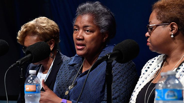 "Former interim Democratic National Committee (DNC) chairwoman Donna Brazile accused top Clinton campaign aides of treating her like a slave, recalling in her upcoming memoir how she told them that she would not stand to be treated as their ""whippi"