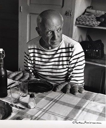 Robert Doisneau, Pablo Picasso and Bread