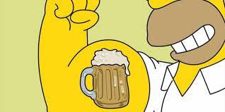 Afbeeldingsresultaat voor cartoon bier drinken