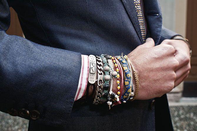 luca rubinacci bracelets mattia arioli pelliano.com  Bracelets pour homme, une spécificité italienne