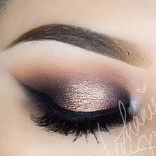 Resultado de imagen para maquillaje de novia de noche ojos marrones