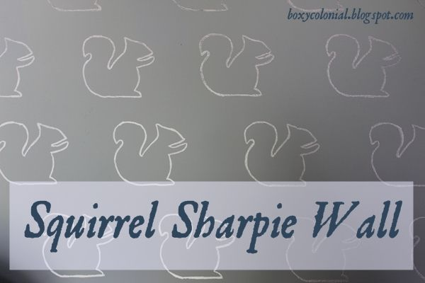 Make a stencil and use a sharpie to trace rather than buying expensive wallpaper.