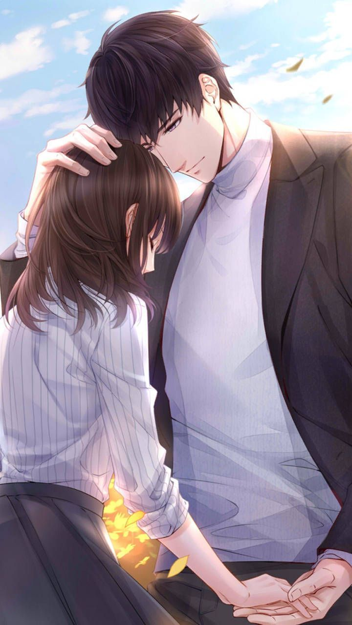 Anime Characters Art Girls Boys Couple Love Romantic Draw