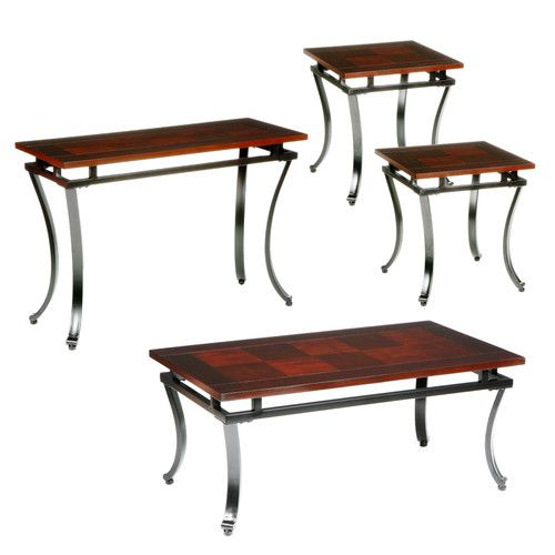 Wildon Home ® Gurley 4 Piece Coffee Table Set