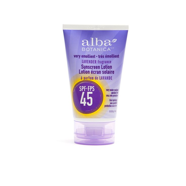 Alba Sunscreen is a summer must to block those UVA/UVB rays. $13
