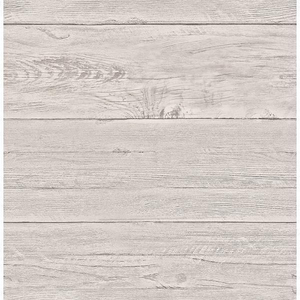 Dutch Wallcoverings Reclaimed houten planken behang beige hal/slaapkamer Niels