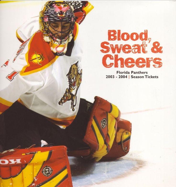 Roberto Luongo--2003-04 Florida Panthers Season Ticket Booklet | Sports Mem, Cards & Fan Shop, Vintage Sports Memorabilia, Publications | eBay!