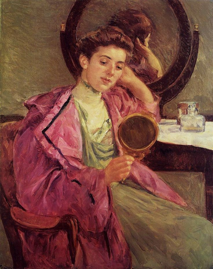 Woman At Her Toilette 1909