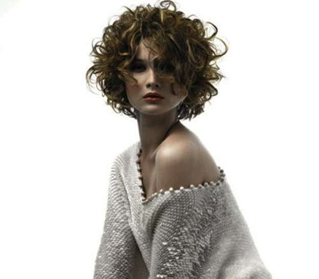 Short Wavy Hairstyles Ese : 82 best cabellos rizados images on pinterest